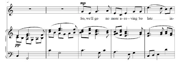 Three Musical Settings of Byron Love Poems   The Byron Society